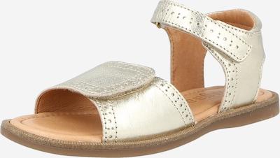 Sandale 'Beda' BISGAARD pe auriu, Vizualizare produs