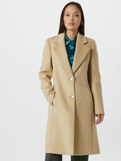 PATRIZIA PEPE Manteau mi-saison en beige, Vue avec modèle