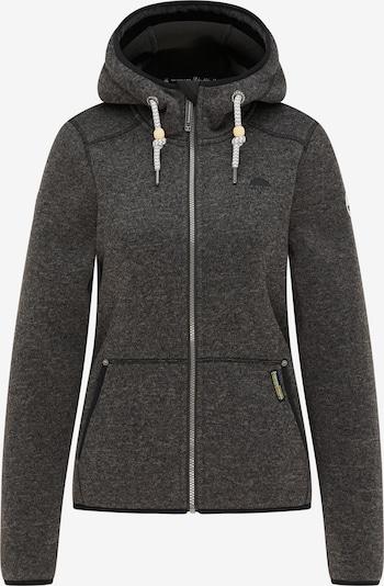 Jachetă  fleece Schmuddelwedda pe gri bazalt, Vizualizare produs