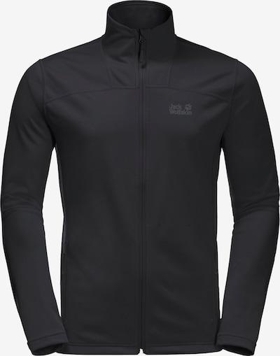 JACK WOLFSKIN Funktionele fleece-jas 'HORIZON' in de kleur Zwart, Productweergave
