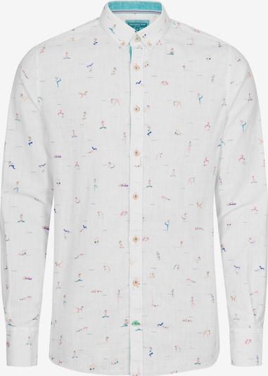 COLOURS & SONS Langarmhemd 'Owen' in weiß, Produktansicht