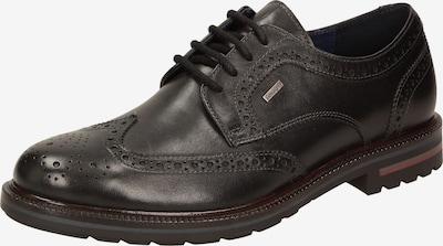 SIOUX Schnürschuh 'Dilip' in schwarz, Produktansicht