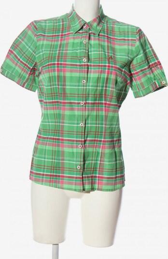 Schöffel Kurzarmhemd in L in grün / pink, Produktansicht