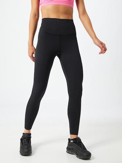 NIKE Pantalon de sport en noir: Vue de face