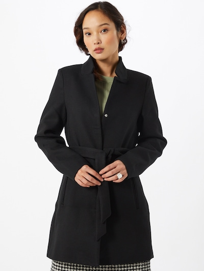 VERO MODA Tussenmantel 'Kristina' in de kleur Zwart, Modelweergave