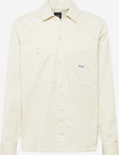 BOSS Casual Krekls 'Locky', krāsa - krēmkrāsas, Preces skats