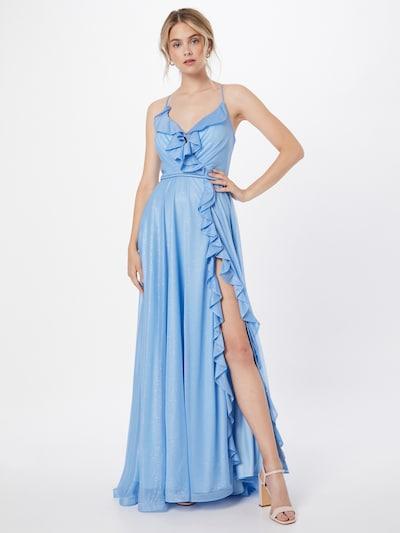 Forever Unique Вечерна рокля 'CHIARA' в светлосиньо: Изглед отпред