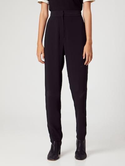 ABOUT YOU x MOGLI Pantalon 'Ayla' en noir, Vue avec modèle