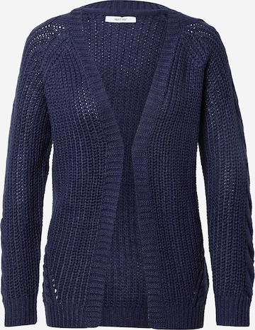ABOUT YOU Knit cardigan 'Saphira' in Blue