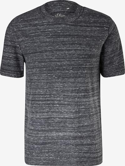 s.Oliver Shirt in de kleur Zwart, Productweergave