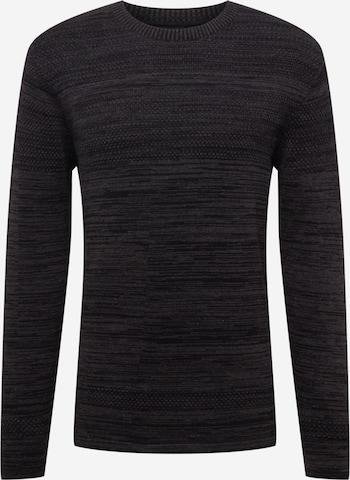 Kronstadt Sweater 'Paul' in Black