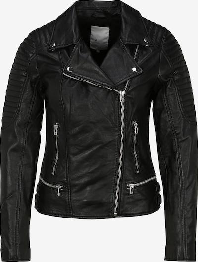 Goosecraft Lederjacke 'Biker' in schwarz, Produktansicht