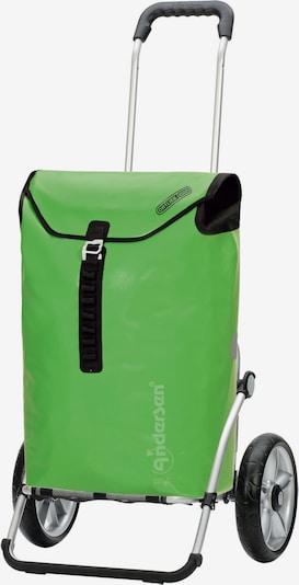 Andersen Shopper Einkaufstrolley 'Ortlieb' in grün, Produktansicht