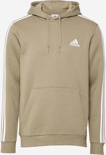 ADIDAS PERFORMANCE Sport sweatshirt i khaki / vit, Produktvy