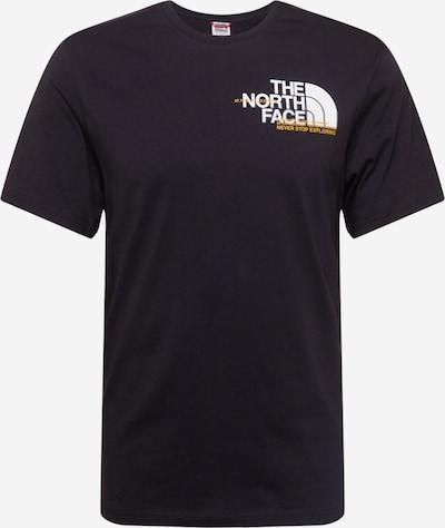 THE NORTH FACE Tričko 'COORDINATES' - čierna / biela, Produkt