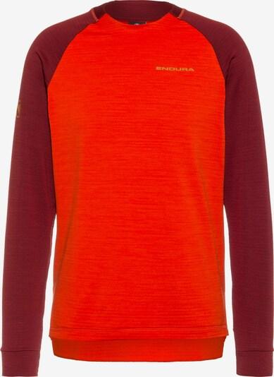 ENDURA Trikot in orangerot / dunkelrot, Produktansicht