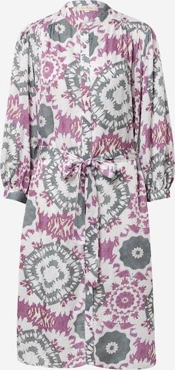 Derhy Košeľové šaty 'CACOLET' - sivá / fialová / biela, Produkt