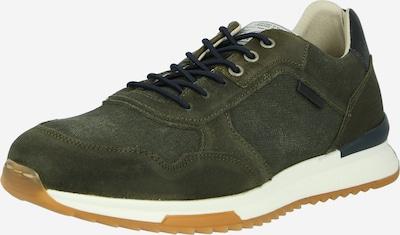 zöld / fekete BULLBOXER Rövid szárú edzőcipők, Termék nézet
