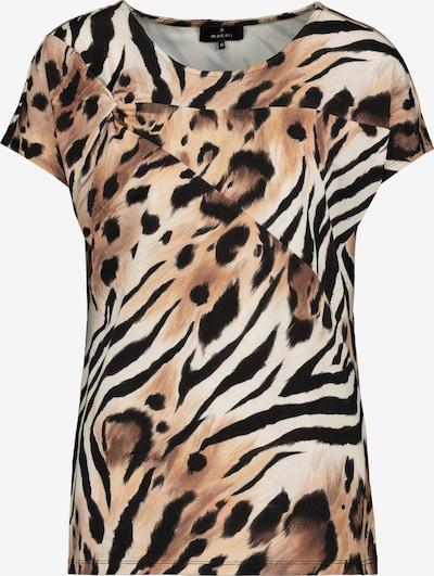 Maglietta monari di colore beige / marrone chiaro / nero, Visualizzazione prodotti