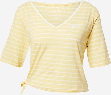 T-shirt 'BIKINI MOMENTS' ROXY en jaune