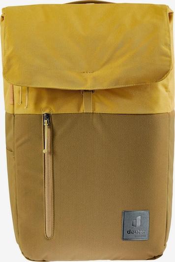 DEUTER Rucksack 'Up Seoul' in gelb / grau / khaki, Produktansicht