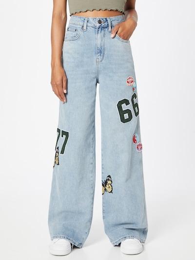 BDG Urban Outfitters Jeans in hellblau, Modelansicht