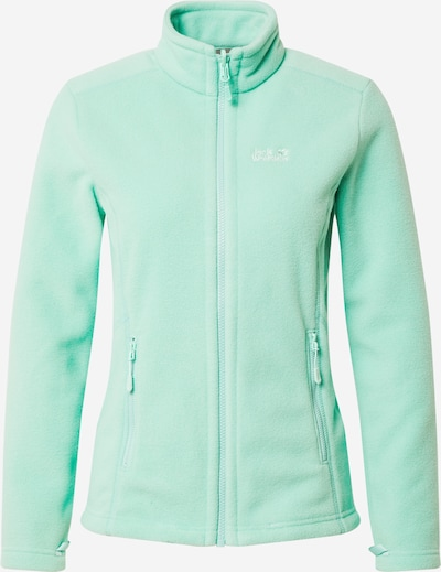 JACK WOLFSKIN Functionele fleece jas 'MOONRISE' in de kleur Mintgroen, Productweergave