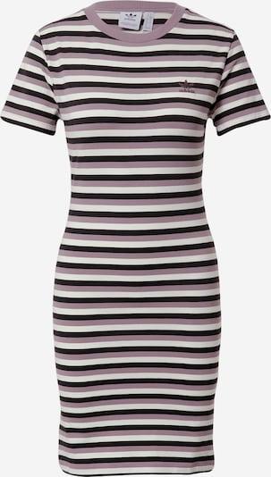 ADIDAS ORIGINALS Kleid in lila / schwarz / offwhite: Frontalansicht