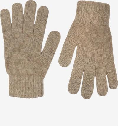 Zwillingsherz Full Finger Gloves in Beige, Item view