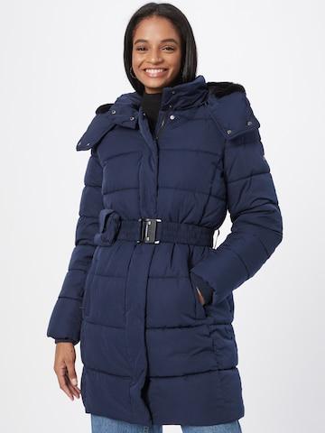 ESPRIT Between-Seasons Coat in Blue