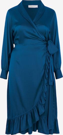 INAN ISIK Seidenkleid 'Audre' in blau, Produktansicht