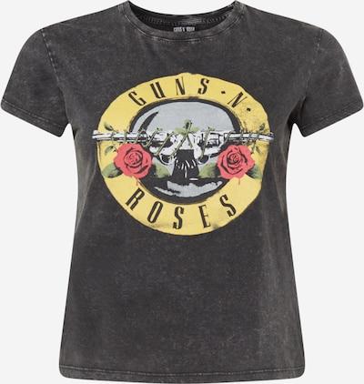 Cotton On Curve T-Shirt in mischfarben / schwarz, Produktansicht
