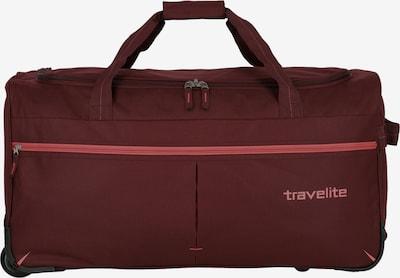 TRAVELITE Sac de voyage 'Basics Fast' en bordeaux, Vue avec produit