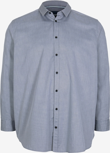 TOM TAILOR Men Plus Hemd in blau / grau, Produktansicht