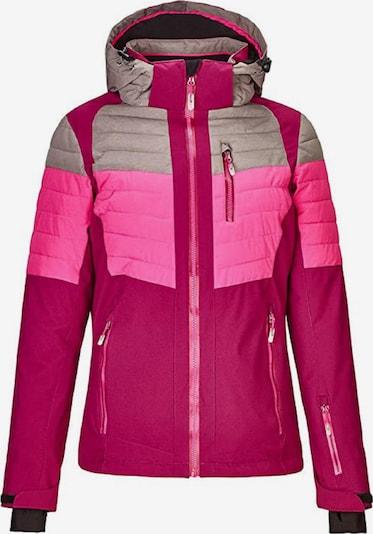 KILLTEC Skijacke ' Yalind ' in pink, Produktansicht