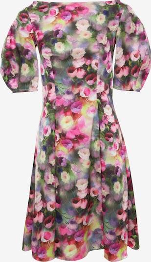 Madam-T Sommerkleid 'ROBERTA' in grau / pink, Produktansicht