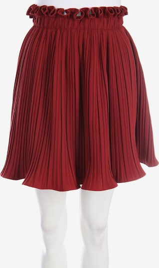 Gina Tricot Skirt in XS in Bordeaux, Item view