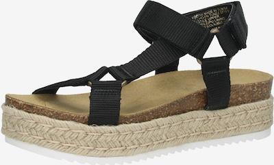 STEVE MADDEN Sandalen in schwarz, Produktansicht