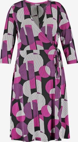 SAMOON Kleid in Mischfarben