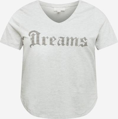 ONLY Carmakoma Paita 'DREAM' värissä antrasiitti / meleerattu harmaa: Näkymä edestä