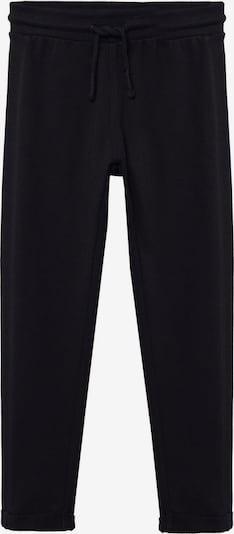 MANGO KIDS Pantalon 'PRAGA8' en noir, Vue avec produit