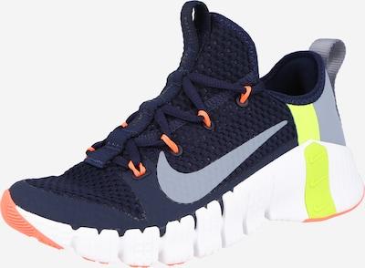 NIKE Zapatos deportivos 'Free Metcon 3' en azul claro / azul oscuro / amarillo / gris, Vista del producto