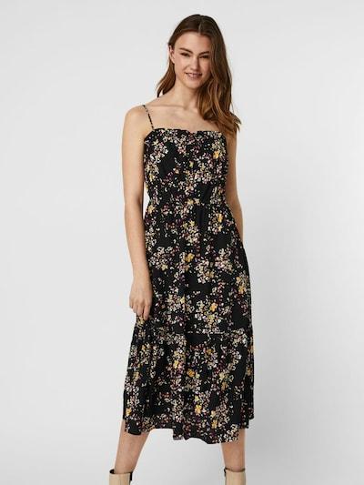 VERO MODA Kleid 'Mila' in mischfarben / schwarz, Modelansicht