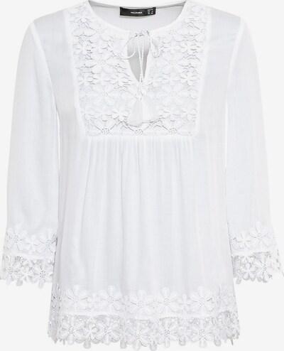 HALLHUBER Tunika mit Floralspitze in weiß, Produktansicht
