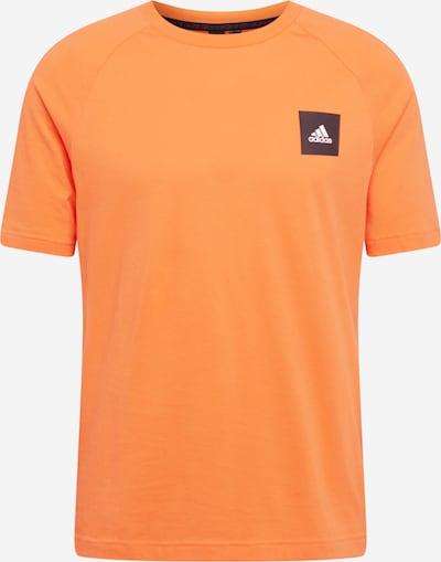 ADIDAS PERFORMANCE Functioneel shirt in de kleur Sinaasappel / Zwart / Wit, Productweergave