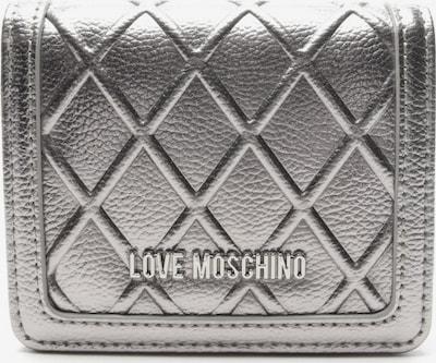 Love Moschino Geldbörse in One Size in silber, Produktansicht