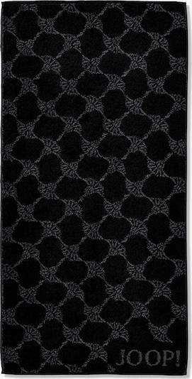 JOOP! Handtuch in grau / schwarz, Produktansicht