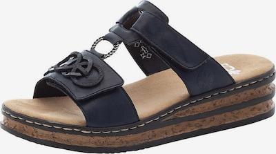 RIEKER Pantofle - marine modrá, Produkt