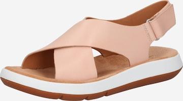 CLARKS Sandale 'Jemsa' in Pink