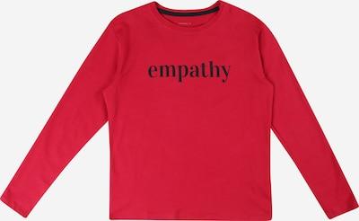 NAME IT Shirt 'KALSI' in rot / schwarz, Produktansicht